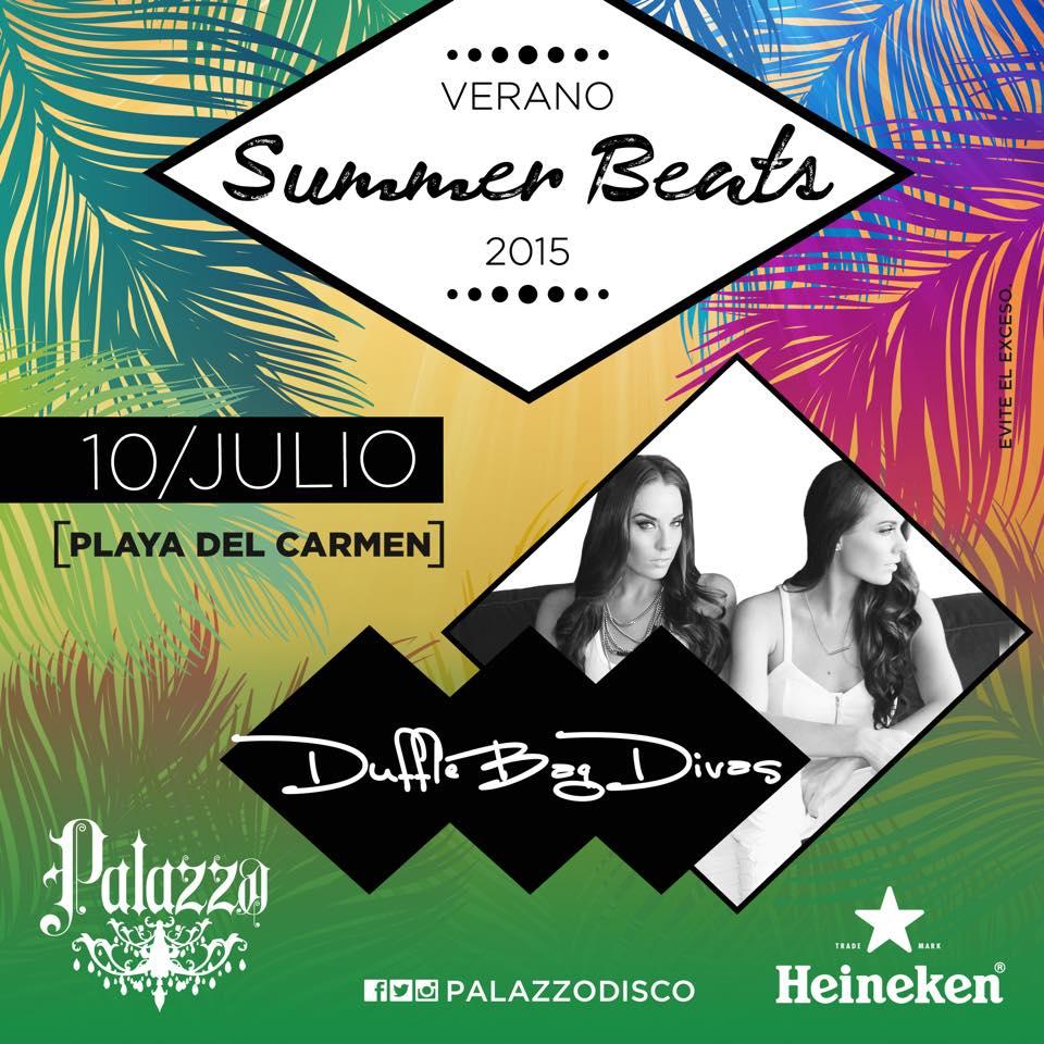 Duffle Bag Divas @ Palazzo Disco - Playa del Carmen