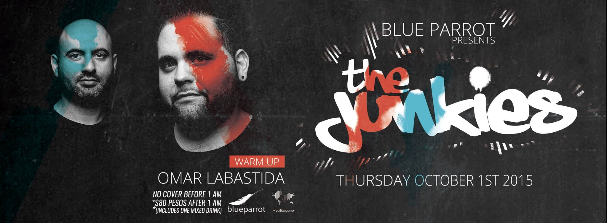 The Junkies @ Blue Parrot - Playa del Carmen
