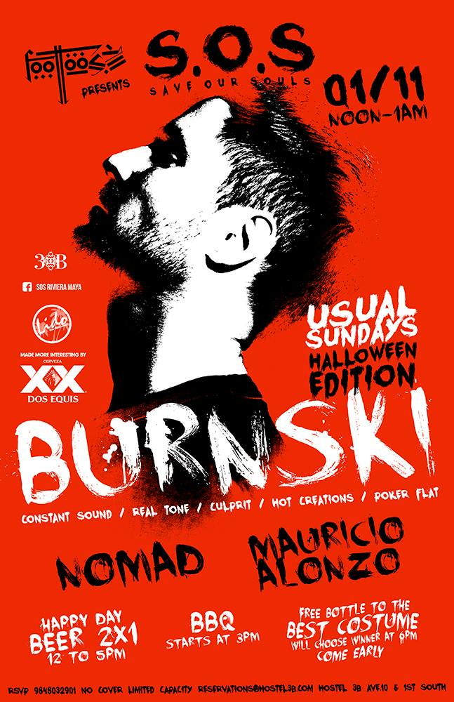 Burnski @ SOS Lounge Playa del Carmen