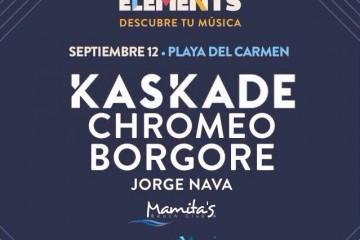 Corona Elements @ Mamitas Beach Club - Playa del Carmen