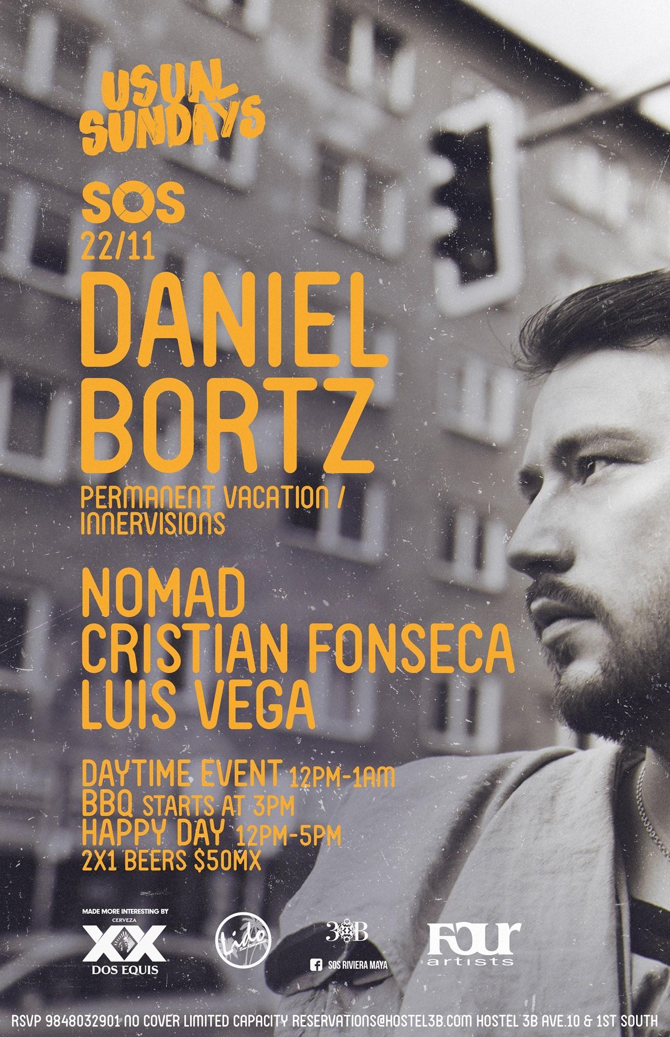 Daniel Bortz @ SOS Lounge Playa del Carmen