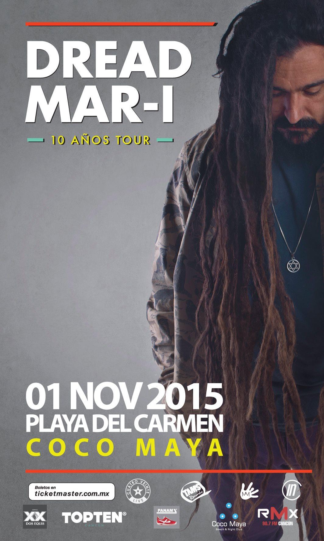Dread Mar I @ Coco Maya Playa del carmen