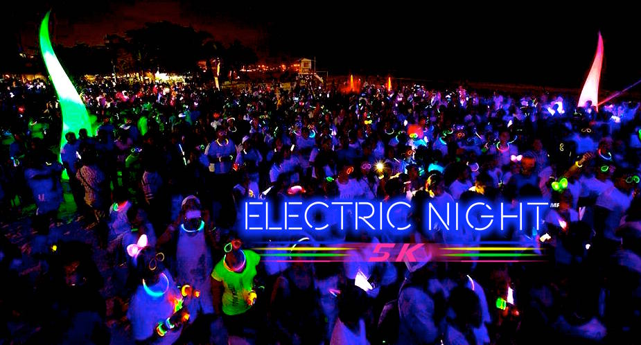 Electric night 5k Shine & Run