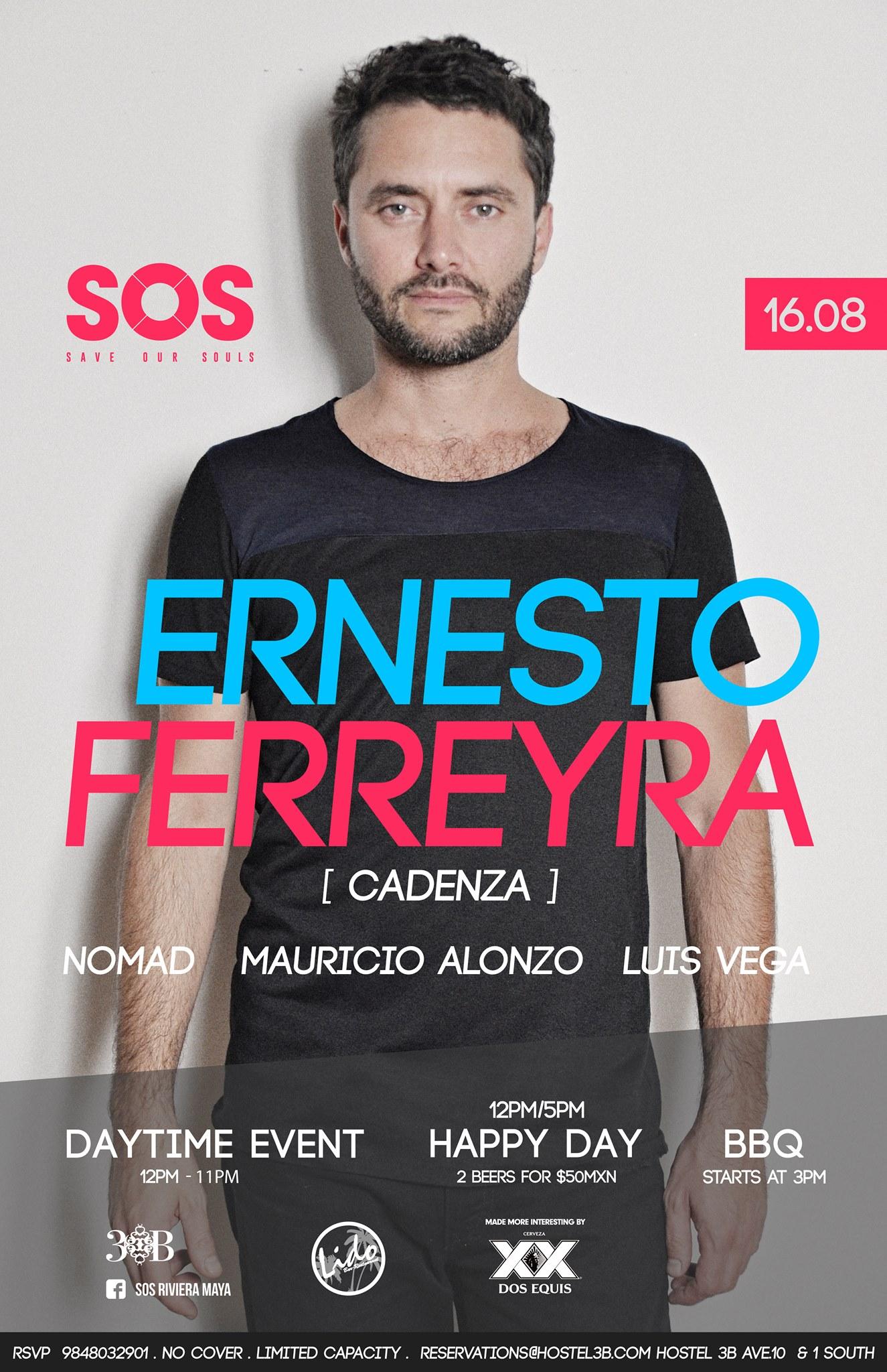 Ernesto Ferreyra @ SOS Lounge