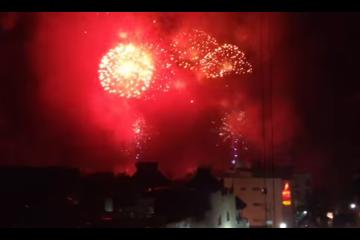 Fuegos Artificiales en Playa del Carmen