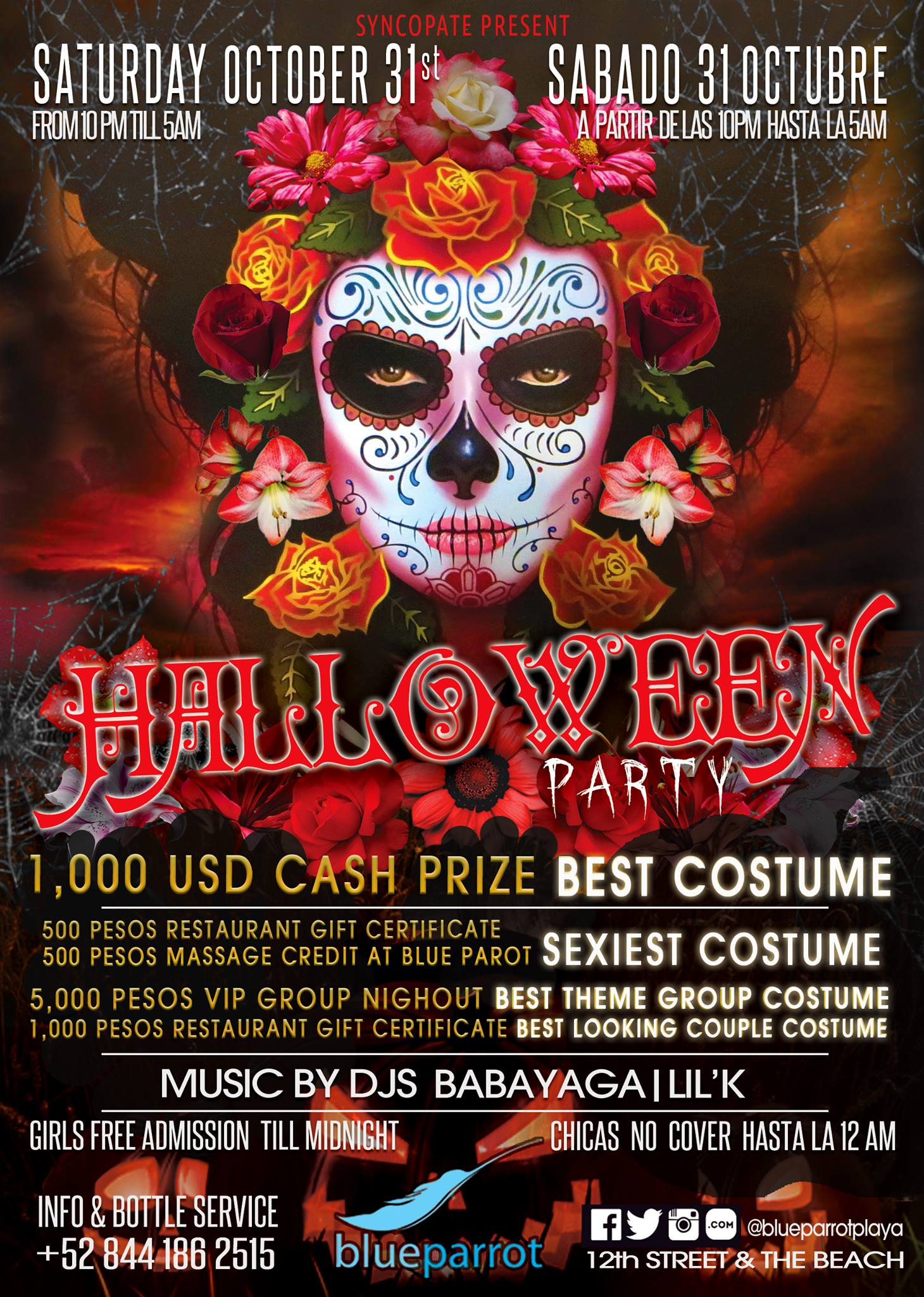 Halloween Party @ Blue Parrot