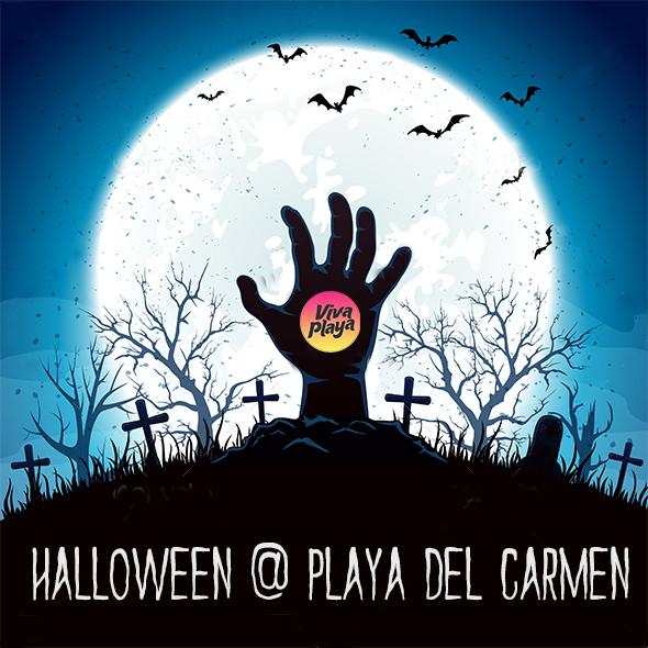 Halloween en Playa del Carmen