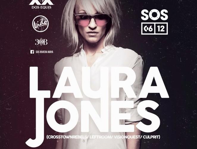 Laura Jones @ SOS Lounge - Playa del Carmen