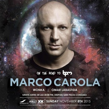 Marco Carola @ Blue Parrot - On the Road to BPM 2016