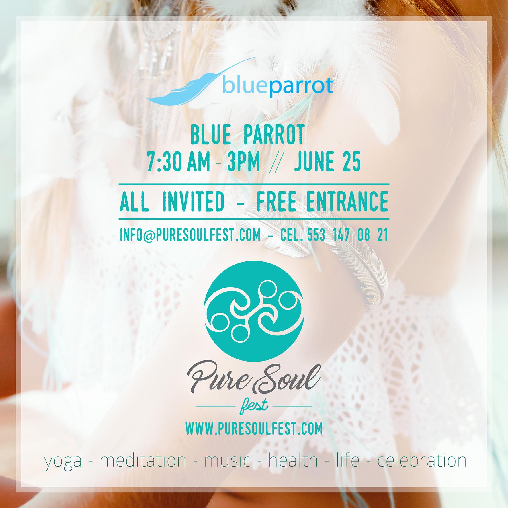 Pure Soul Fest @ Blue Parrot - Playa del Carmen