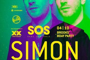 Simon Baker @ SOS Lounge - Playa del Carmen
