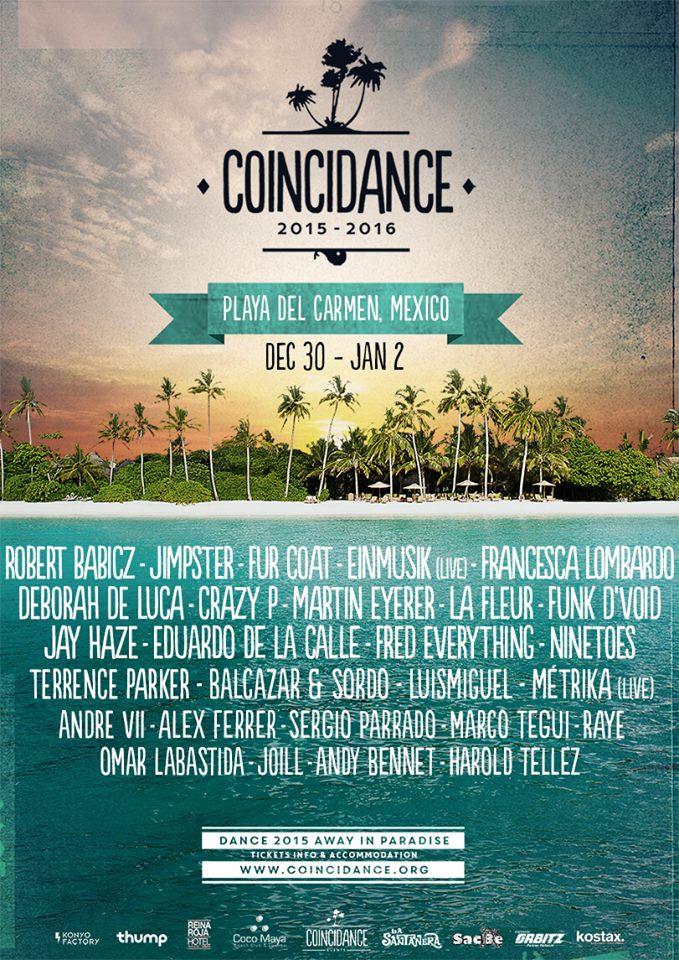 Coincidance Festival 2015-2016 @ Playa del Carmen