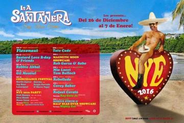 Año Nuevo en La Santanera Playa del Carmen