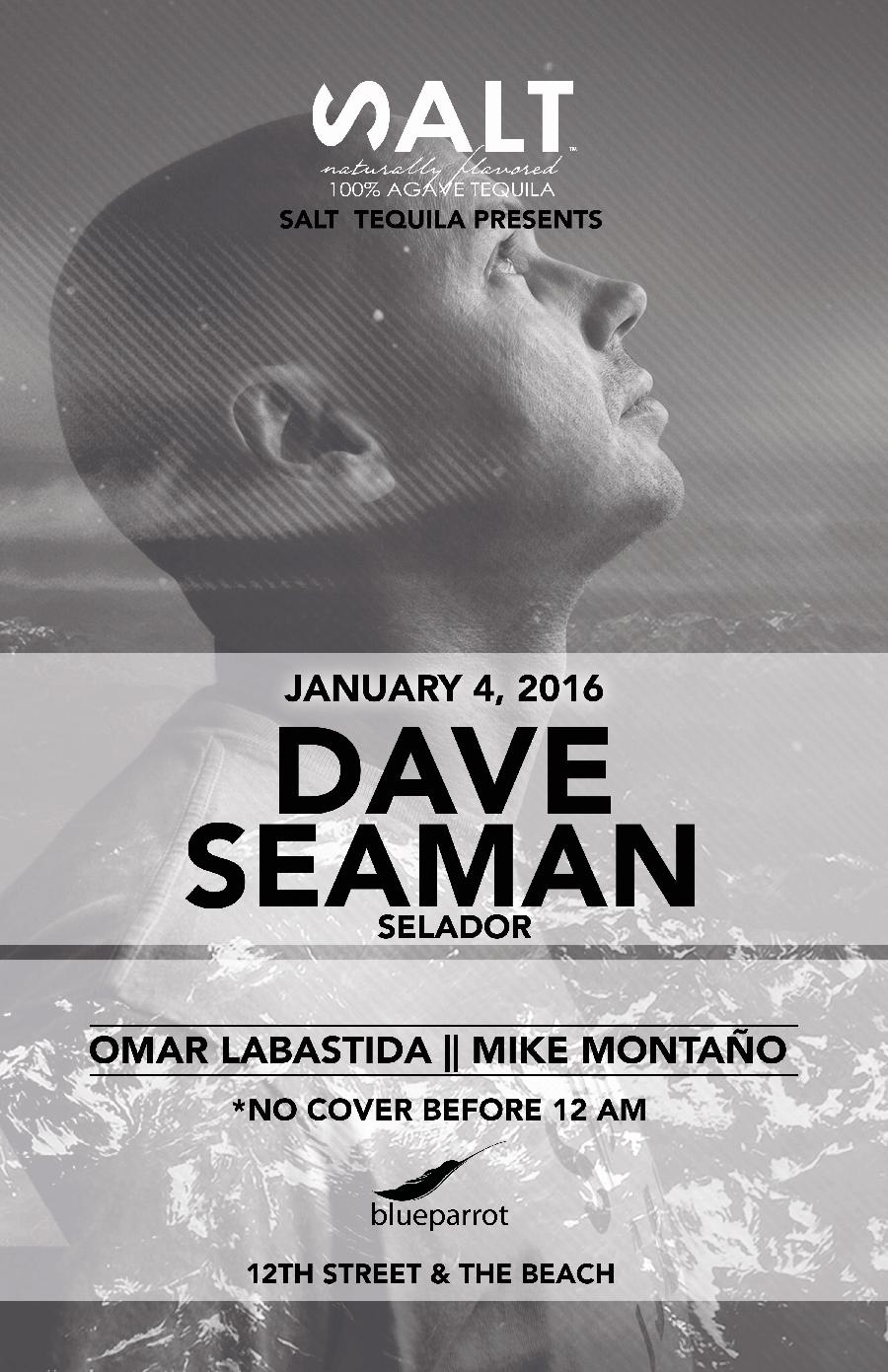 Dave Seaman @ Blue Parrot - Playa del Carmen 2016