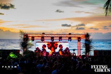 Flying Circus en Playa del Carmen