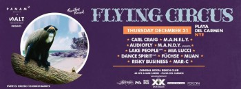 Flying Circus en Playa del Carmen