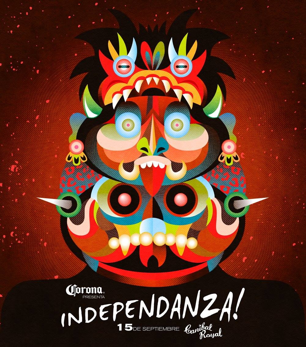 Independanza 2016 @ Canibal Royal Playa del Carmen