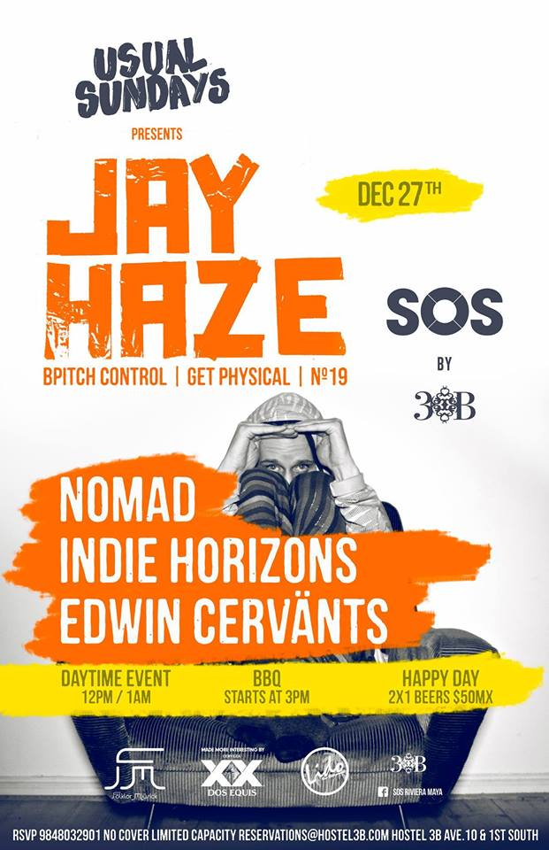 Jay Haze @ SOS Lounge