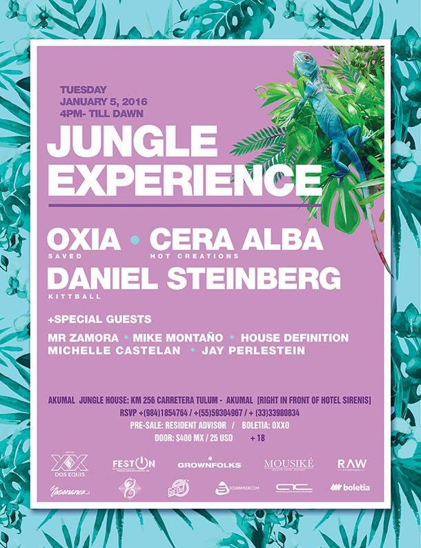 Jungle Experience @ Akumal