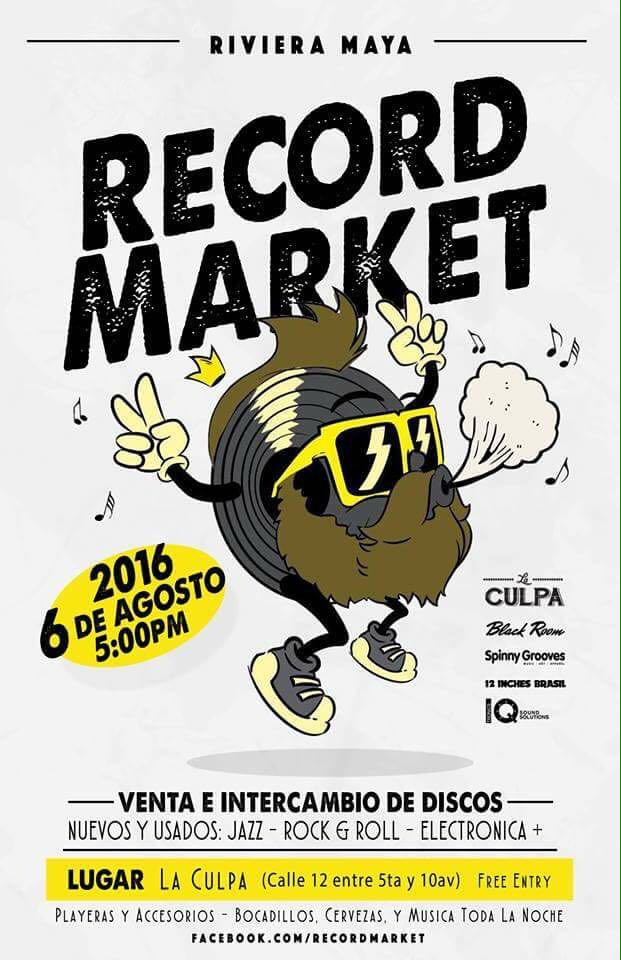 Riviera Maya Record Market 2 - Playa del Carmen