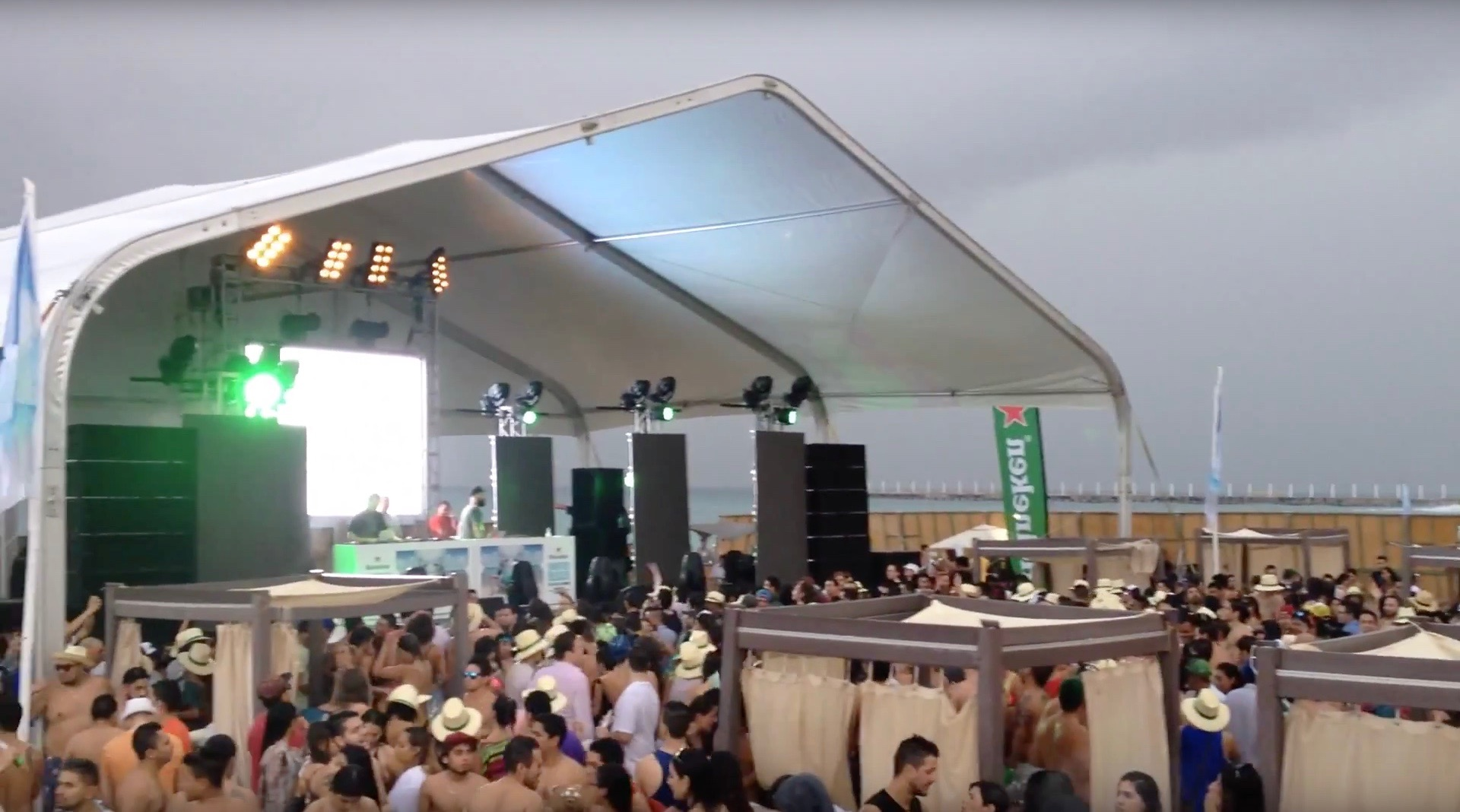 Hernan Cattaneo @ Mamitas Beach Club - Winter Beach 2015
