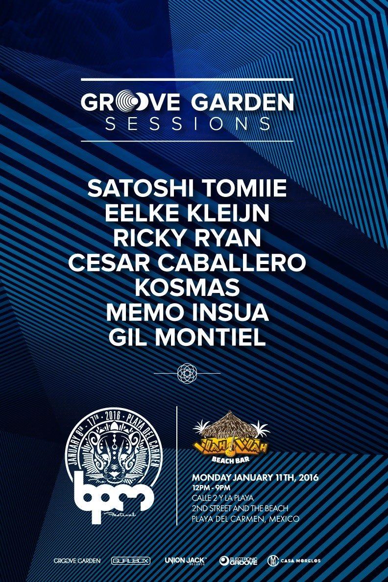 Groove Garden @ Wah Wah - BPM 2016