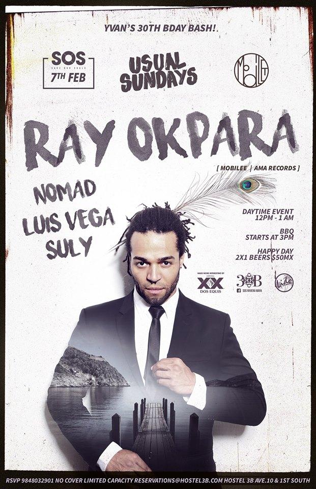 Ray Okpara @ SOS Lounge