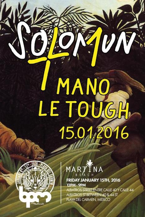 Solomun +1 @ Martina Beach - BPM2016