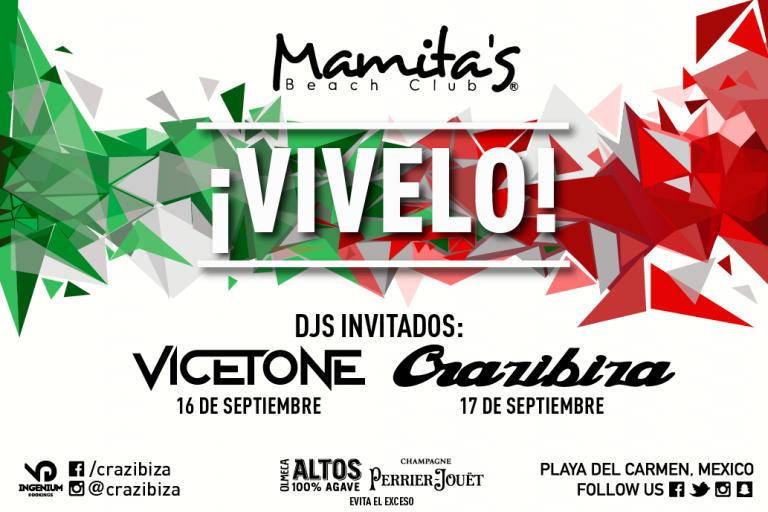 ¡VIVELO! @ Mamitas Beach Club Playa del Carmen