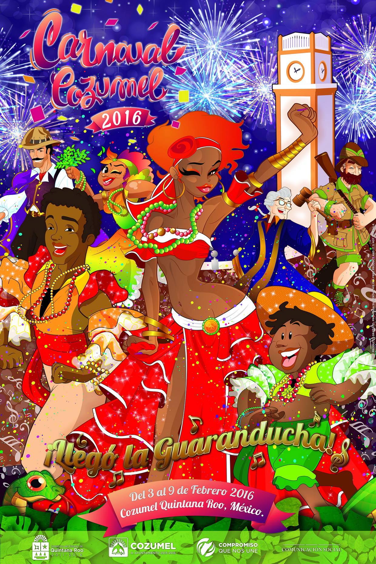 Carnaval Cozumel 2016