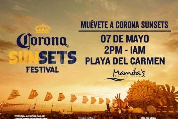 Corona Sunsets Mamitas Beach Club