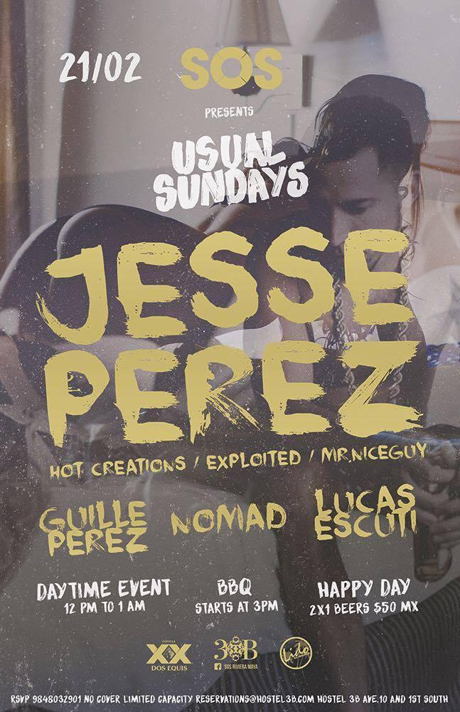 Jesse Perez @ SOS Lounge Playa del Carmen
