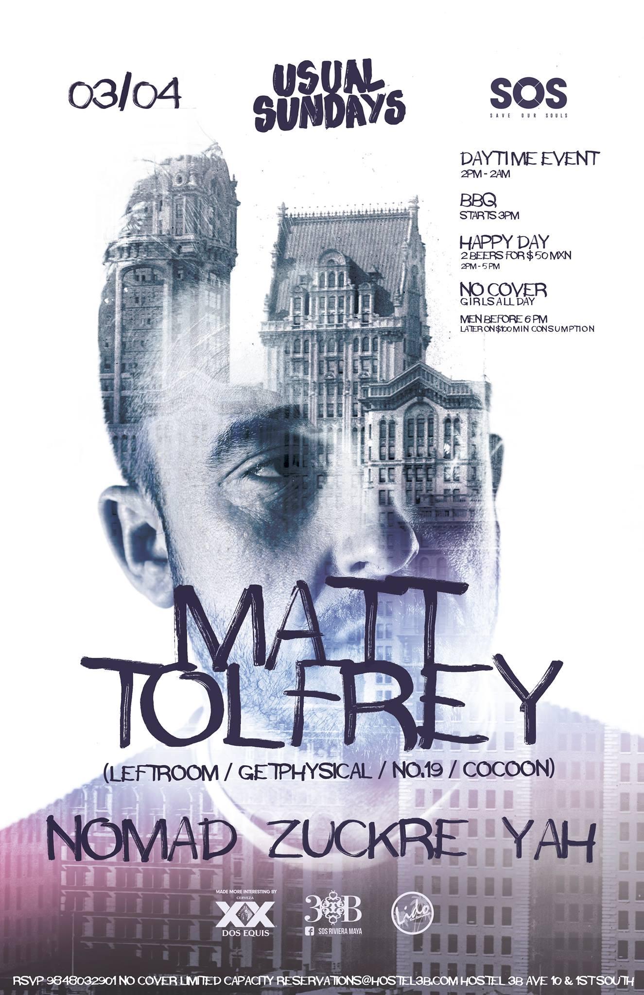 Matt Tolfrey playa del carmen