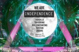 We are Independence @ Cenote Dos ojos Tulum