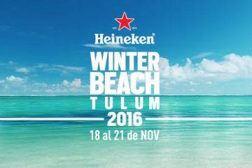 Heineken Winter Beach 2016 @ Tulum