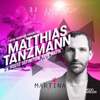 Mathias Tanvzmann Playa del Carmen Martina Beach Club