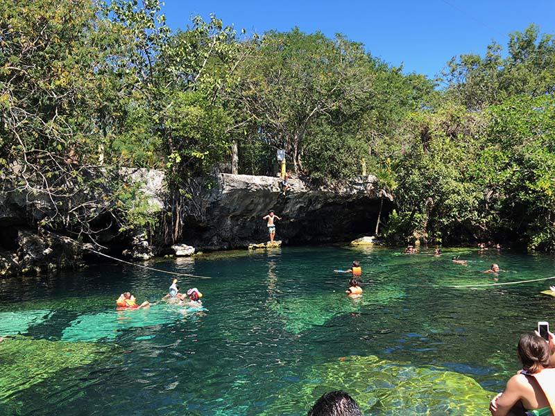 Cenote Cristalino riviera maya