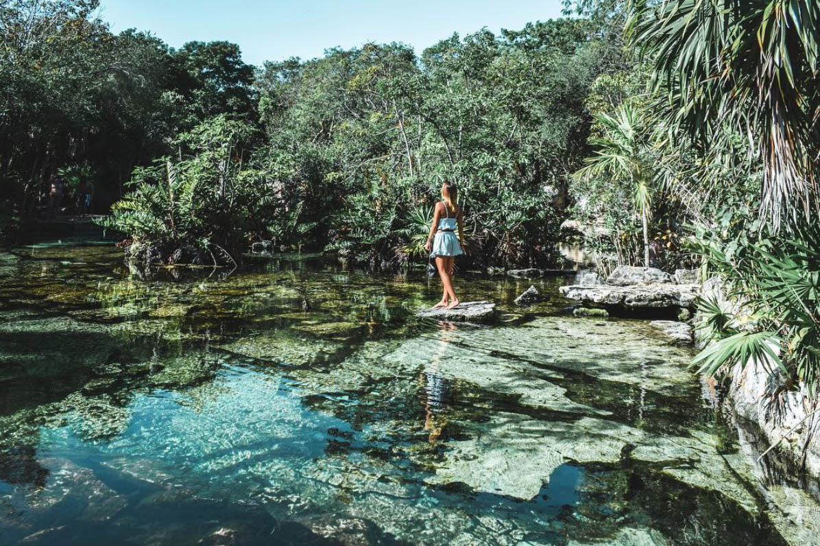 Cenote Azul Playa del Carmen - Viva Playa