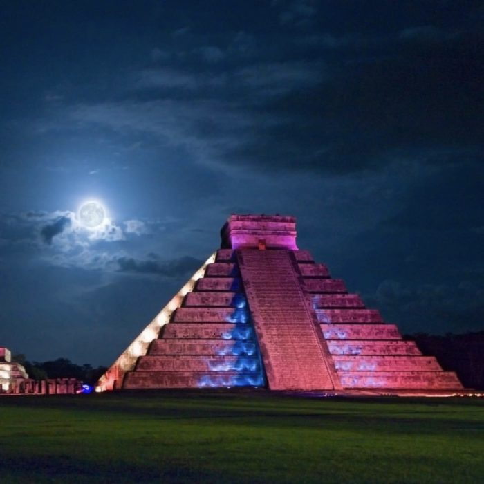 Chichen Itza Light Show