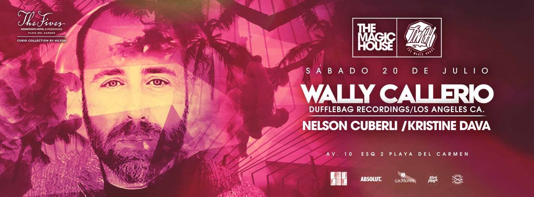 Wally Callerio - Eventos Playa del Carmen