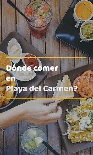 Guia de restaurantes en Playa del Carmen