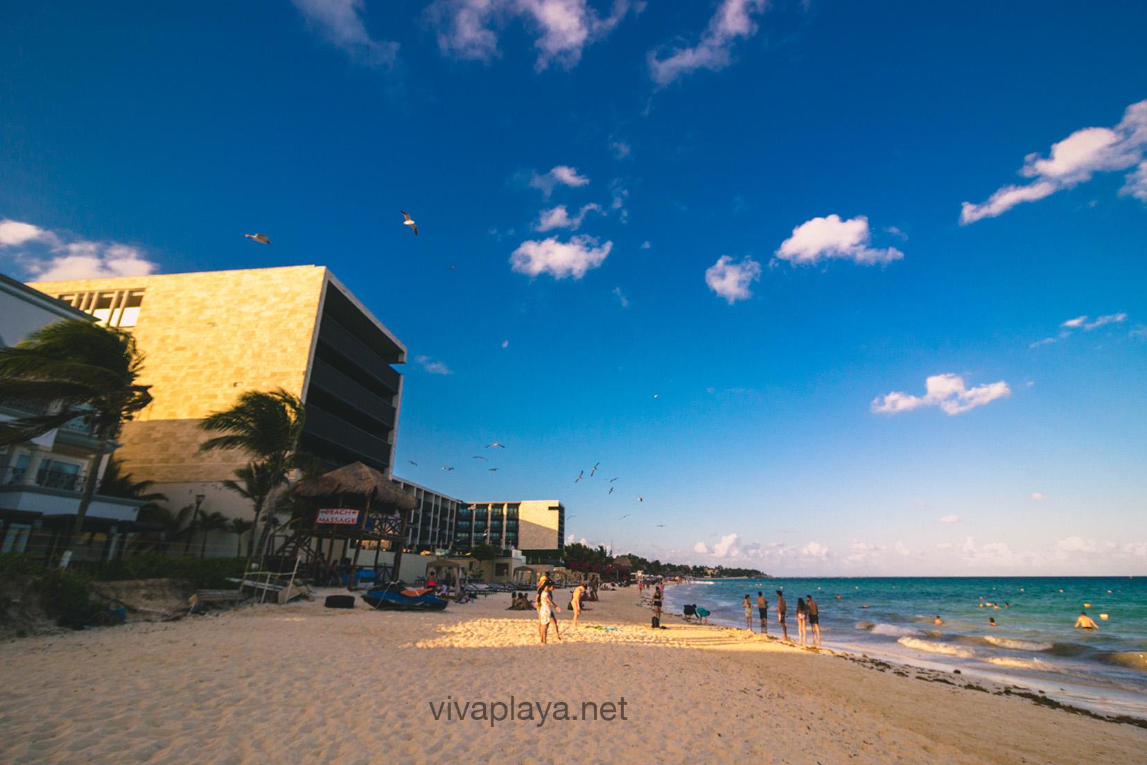 Playas publicas en Playa del Carmen - Viva Playa